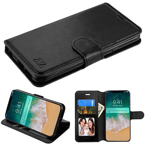 For iPhone XS Max Flip MyJacket Card Wallet Phone Protector Cover Case