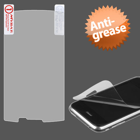 Clear Anti-grease LCD Screen Protector Cover Film for Samsung i897 Captivate