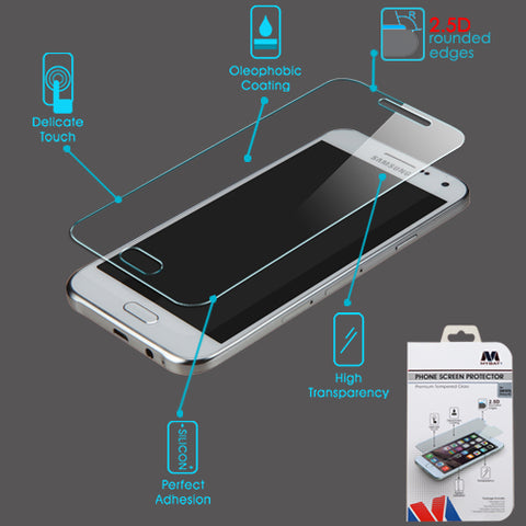 For Samsung Galaxy E5 (S978L) Clear Tempered Glass Screen Protector Film (2.5D)