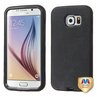 For G920 Galaxy S6 Carbon Fiber/Black VERGE Hybrid Protector Cover