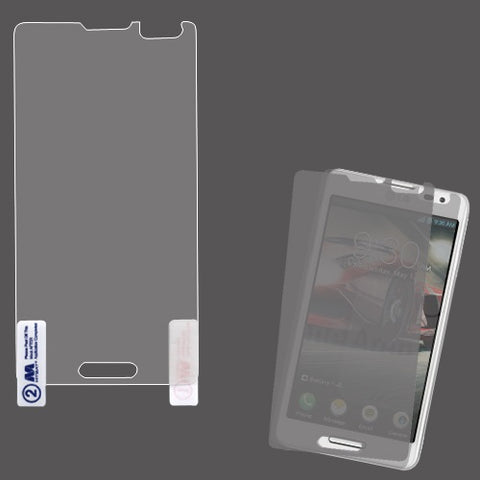 Clear Twin (2) Pack of Screen Protector Film Cover for LG Optimus F7 US780