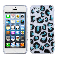 3D Diamond Bling Case +Screen Film Cover For iPhone 5 5S