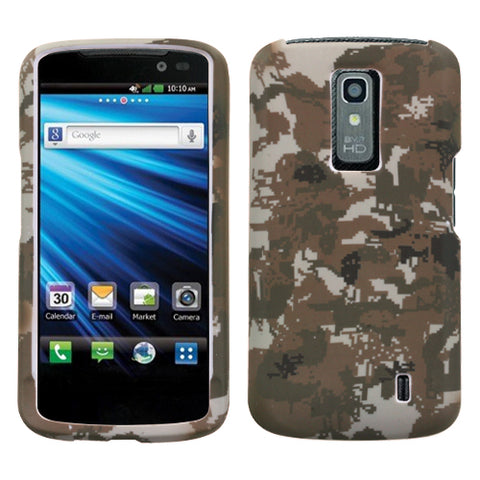 For P930 Nitro HD Lizzo Digital Camo/Yellow Phone Protector Cover