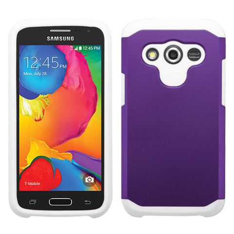 For G386T Galaxy Avant Purple/White Astronoot Phone Protector Cover