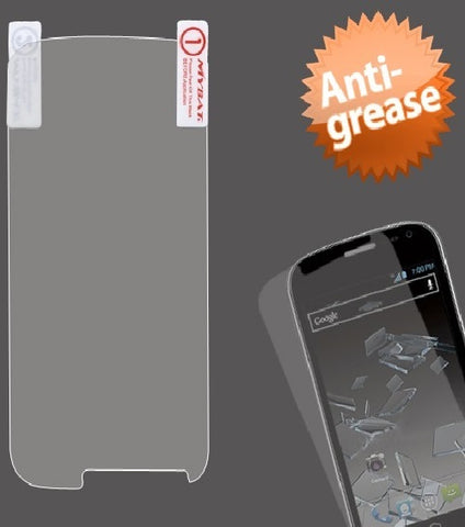 Clear Anti-grease LCD Screen Protector Film Cover for ZTE Flash N9500