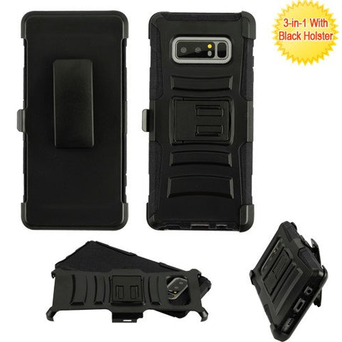 For Samsung Galaxy Note 8 Advanced Armor Stand Protector Cover  Holster Combo
