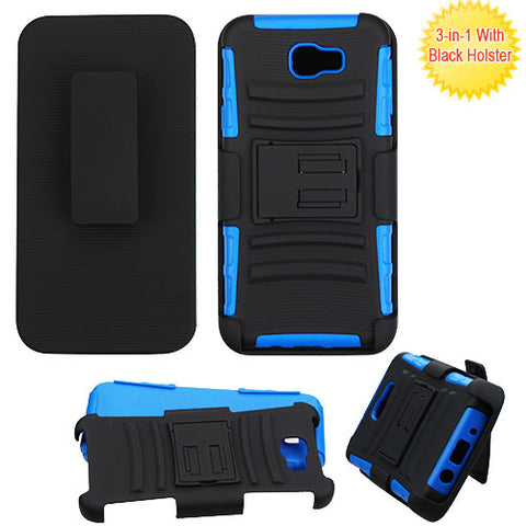 For Samsung G570 Advanced Armor Stand Shockproof Protector Cover Case w/Holster