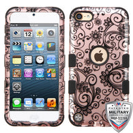 For iPod Touch 5th / 6th Gen TUFF Hybrid Phone Protector Armor Case Cover