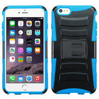 Advanced Armor Rugged Protector Cover Case w/Kick Stand for iPhone 6 Plus
