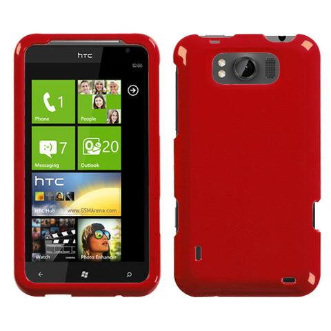 Hard Slim Snap on Cover Case Smooth Protector for HTC Titan X310a