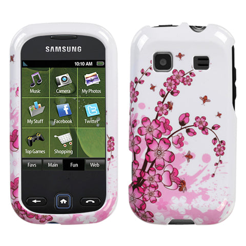 Design Snap on Cover Protector Case for Samsung Trender M380