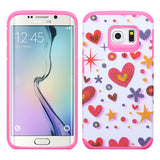 For Galaxy S6 Edge Hard Design +Silicone Cover Protector Case