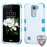 For LG Treasure/Tribute/K7 Natural TUFF Armor Hybrid Phone Protector Case Cover