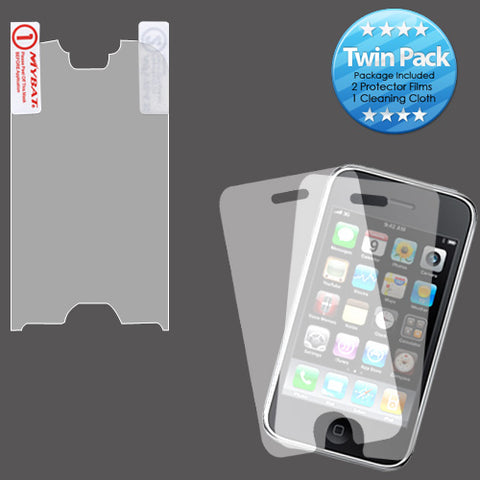 2x LCD Screen Cover Protector Film with Cloth Wipe for Motorola i1