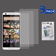 For HTC Desire 530/626S/626 Clear Screen Guard Protector Film Cover 3 Pack