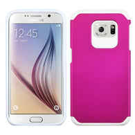 For G920 Galaxy S6 Hot Pink/White Astronoot Phone Protector Cover