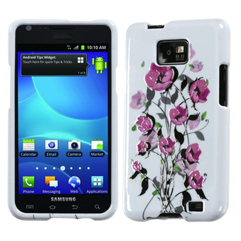 For I777 Galaxy S II Spring Season Sense Hard Snap On Phone Protector Cover Case