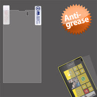 Clear Anti-grease LCD Screen Protector Cover for NOKIA: 520 Lumia 520