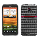 Soft Rubberized Silicone Case Cover Protector Design for Sprint HTC Evo 4G LTE
