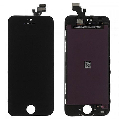 (Closeout) Display Part - Glass Screen, Digitizer & LCD for iPhone 5, Black