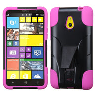 For Lumia 1320 Hot Pink Inverse Advanced Armor Stand Protector Cover