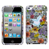 Two Piece Hard Snap on Design Protective Cover Case for iPod Touch 4th Gen