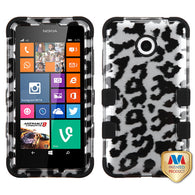 2D Design Case +Silicone Protector TUFF Cover for Nokia Lumia 630 635