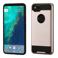 For Google Pixel 2 Brushed Hybrid Shockproof Armor Phone Protector Case Cover