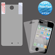 2x LCD Screen Cover Protector Film w/Wipe for Ipod Touch 4th Generation