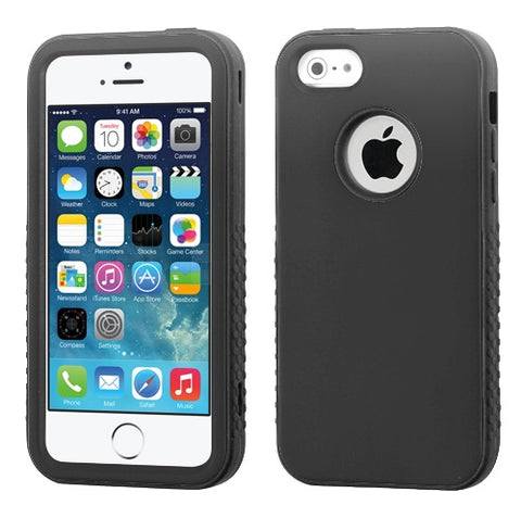 Hard Shell + Silicone Cover VERGE Hybrid Case for iPhone 5 or 5S