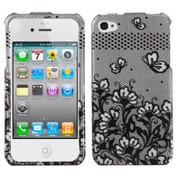 2D Design Hard Cover Snap on Protector Case for iPhone 4 4S