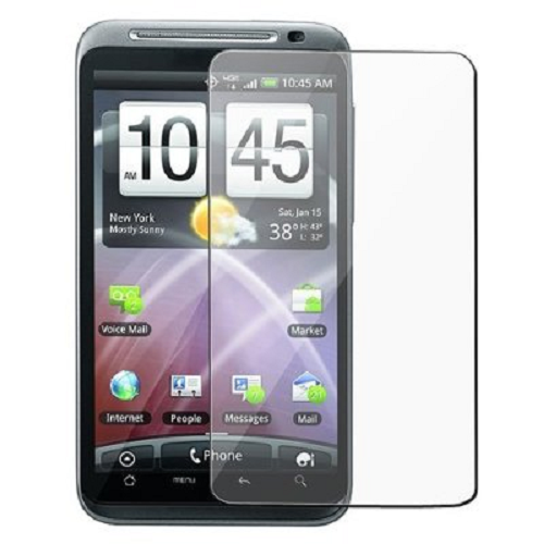 2 SCREEN PROTECTOR COVERS AND CLEANING CLOTH for HTC Thunderbolt ADR6400