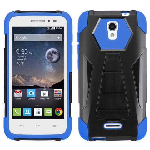 For 5042T OneTouch Pop Astro Blue Inverse Advanced Armor Stand Protector Cover