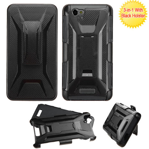 For D810 Studio Energy Black Advanced Armor Stand Protector Cover (+ Holster)