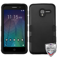 For Alcatel Tru / Stellar TUFF Hybrid Hard Silicone Phone Protector Case Cover