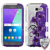 For Samsung Galaxy J3/Emerge/Sol 2 TUFF Hybrid Phone Shockproof Protector Cover