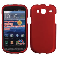 For I425 Galaxy Stratosphere III Titanium Solid Red Phone Protector Cover