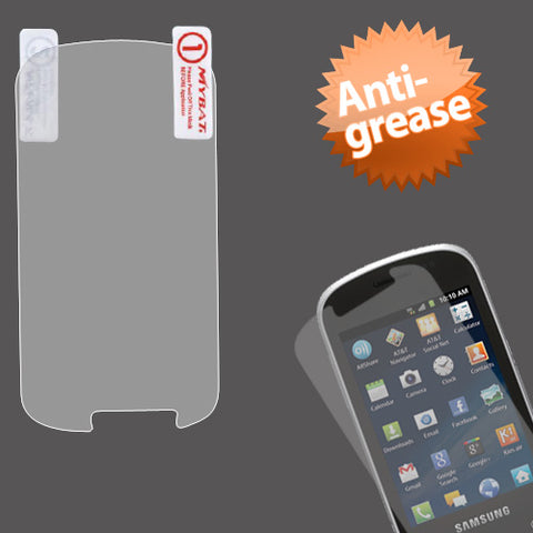 Clear Anti-grease LCD Screen Protector Cover for SAMSUNG: I827 (Galaxy Appeal)