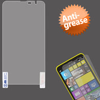 Anti-Grease LCD Screen Protector Cover Film +Cloth Wipe for NOKIA: Lumia 1320