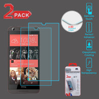 For HTC Desire 530/626S/626 Tempered Glass Screen Protector Film (2.5D) 2 Pack