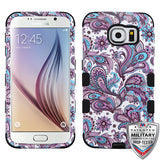 For Samsung Galaxy S6 G920 Hybrid TUFF Rubber Hard Protective Cover Case