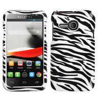Design Snap on Cover Protector Case for Alcatel One Touch Evolve 5020T