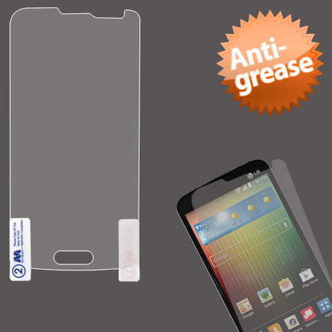 Anti Grease LCD Screen Protector Cover Film for LG: VS876 Lucid 3