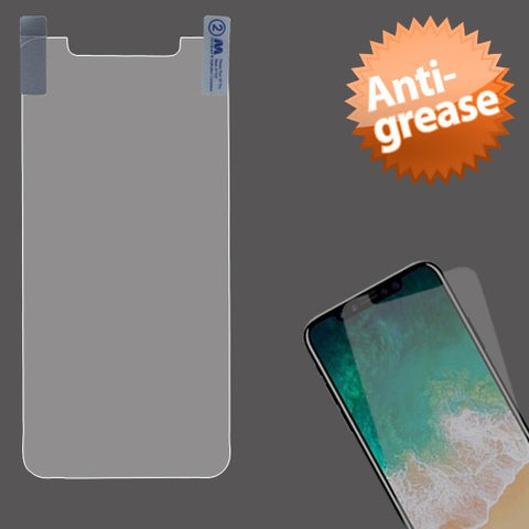 For iPhone XS/X Clear Anti-grease LCD Phone Screen Protector Film Shield Cover