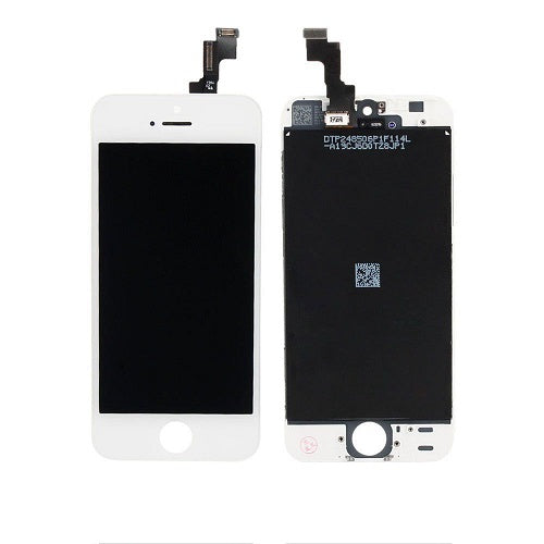 (Closeout) Display Part - Glass Screen, Digitizer & LCD for iPhone 5S, White