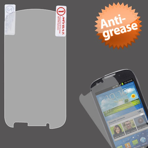 Clear Anti-grease LCD Screen Protector Cover for SAMSUNG: I200 (Stellar)