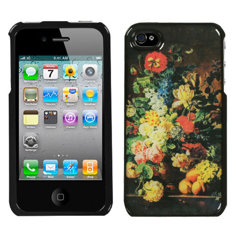 For iPhone 4s/4 Springtime Dream Hybrid Phone Protector Cover Case
