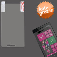 Clear Anti-grease LCD Screen Protector Cover for NOKIA: 810 (Lumia 810)