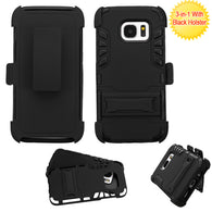 For Samsung Galaxy S7 Advanced Impact Armor Case Cover w/ Stand + Holster