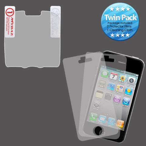 2x LCD Screen Cover Protector Film with Cloth Wipe for Pantech Caper
